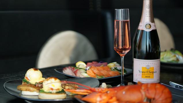 週日玫瑰香檳海鮮自助早午餐 @ W Hotel