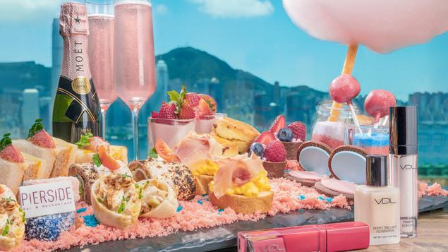 VDL x 皇家太平洋酒店堤岸酒吧及餐廳「Glam me Up」下午茶