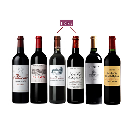 Bordeaux  Discovery Set of Buy 4 get 2 FREE