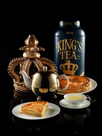 Tea WG打造新年皇家禮遇—茶香國王蛋糕