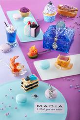 海匯酒店 x 珠寶品牌MADIA在愛的季節呈獻 浪漫孔雀主題下午茶