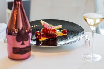 黑桃A香檳與米芝蓮三星名廚的奢華配酒菜單