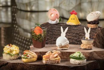 復活節「蛋」出繽紛下午茶