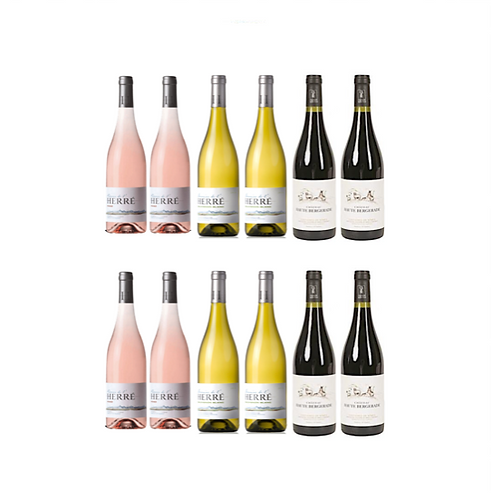 Party Wine ROSE WHITE RED x12