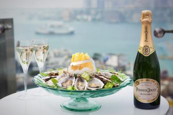 Perrier Jouët香檳與週末早午餐@SKYE