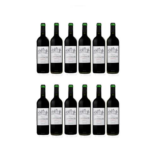 Chateau Lavison AOC Bordeaux Red Wine 2018 x 12