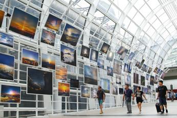『風雲際會』天氣景象『海、陸、空』全接觸展覽 - 香港國際機場「藝術、文化與音樂巡禮在機場 2018」