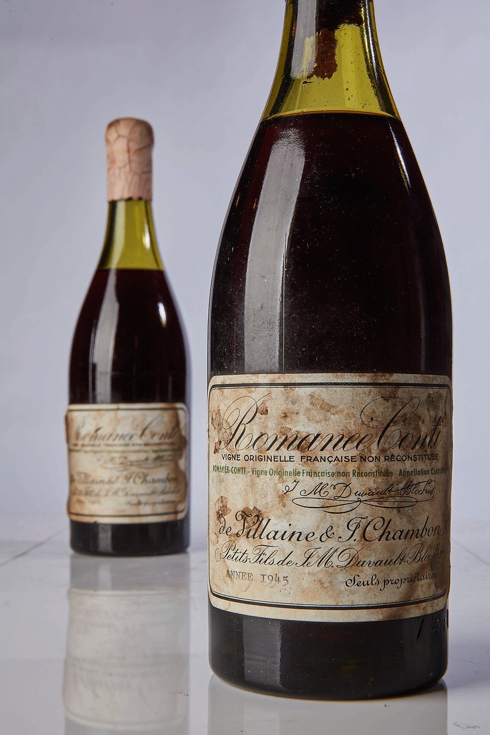 9921 Lots 84 & 85 Romanee Conti 1945 (so