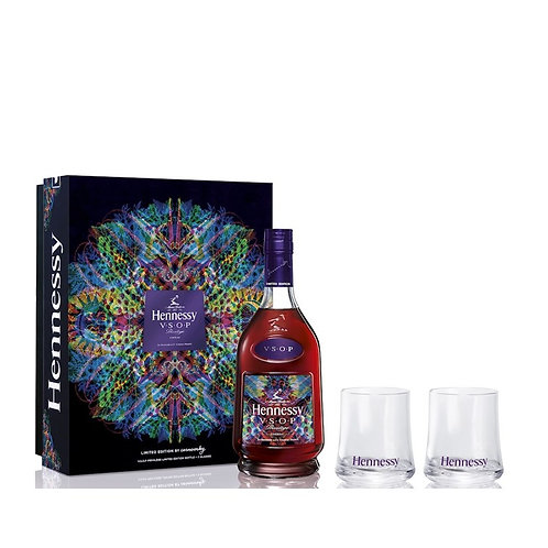 Hennessy V.S.O.P. + 2 Glasses Limited Edition