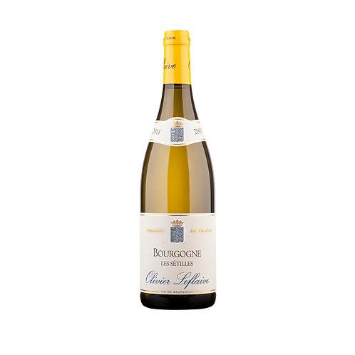 Bourgogne Blanc Les Setilles Olivier Leflaive 2012