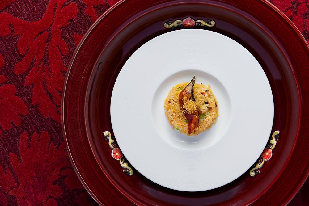 火炙鰻魚味菜炒飯