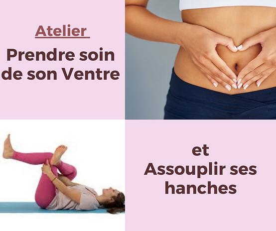 Atelier Prendre soin de son ventre et assouplir ses hanches Yoga 24