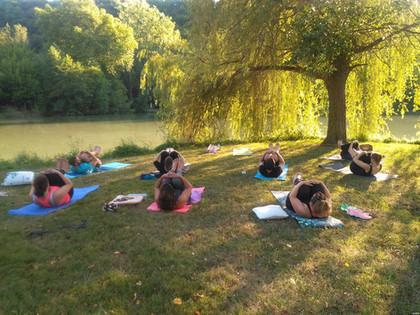 Séances de Yoga en extérieur été 2020 sur Boulazac et Périgueux