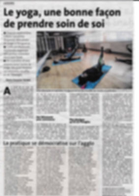 article yoga dordogne libre 10 juin 2018