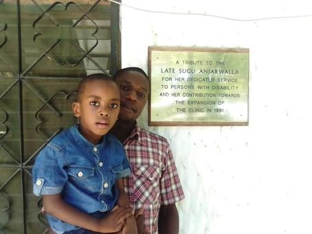 Gebt Omar die Chance laufen zu können / Give Omar the chance to walk