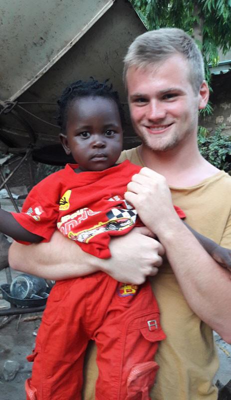 Baby Petra und Timo