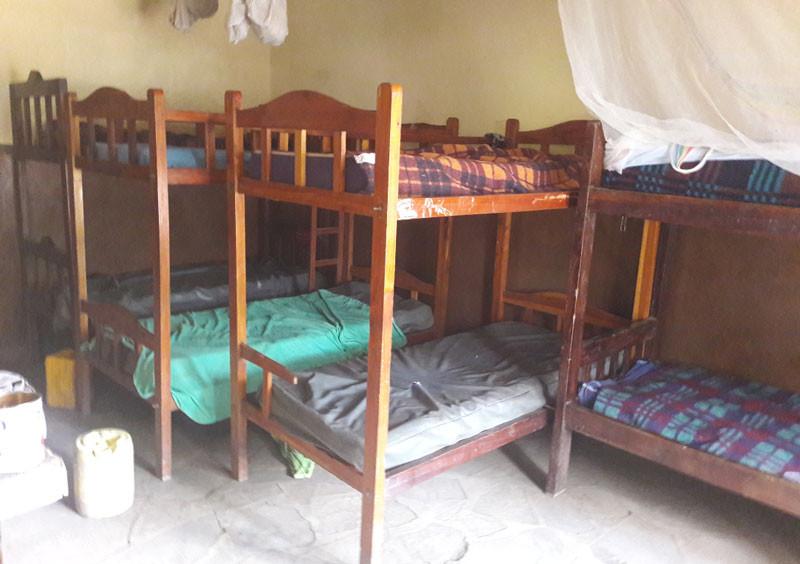 Schlafsaal der Kinder