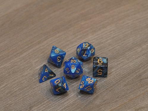 Black Blue Marble