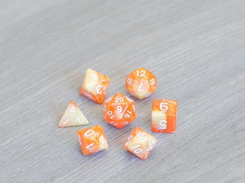 Yellow Orange Marble