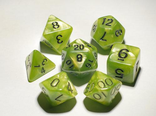 Lime Green Swirl