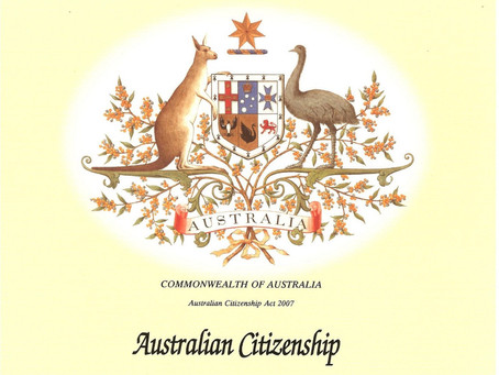 Becoming Australian!
