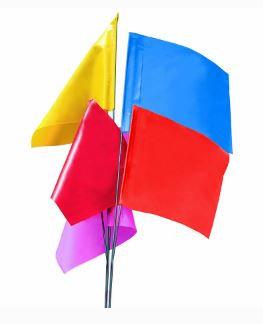 Plain Marking Flags