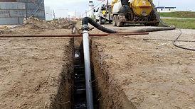 hydro vacuum excavation gas transmission