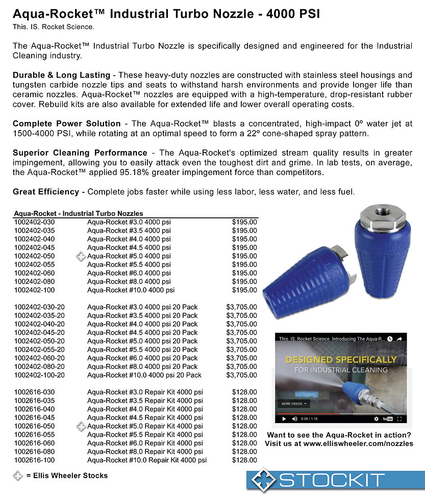 Hydraflex Aqua Rocket Industrial Cleaning Nozzle Nebraska utility marking paint trace wire supply marking tape hydro vac nozzles nebraska utility damage prevention products undrground safety products whiskers stake all whiskers stake chaser whiskers survey paint inverted marking paint Nebraska Kansas Iowa South Dakota Midwest markin supplies Ellis Wheeler utility products underground locating cable locators metal detectors nebraska tracer anode tracer wire fittings hydraflex ripsaw hydrovac nozzles hydraflex switchblade nozzles hydraflex aqua rocket nozzles powe washer tubes power washer guns pressure washer wands pressure washer lances telescoping wand Nebraska 811 safety products marking inverted neon paint