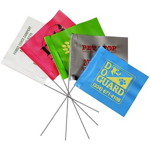 Custom Print Marking Flags