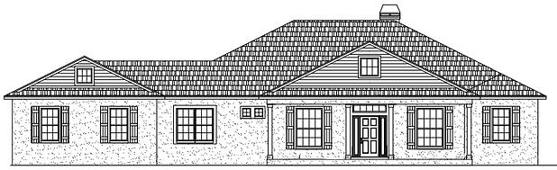 Hawthorne Front Elevation