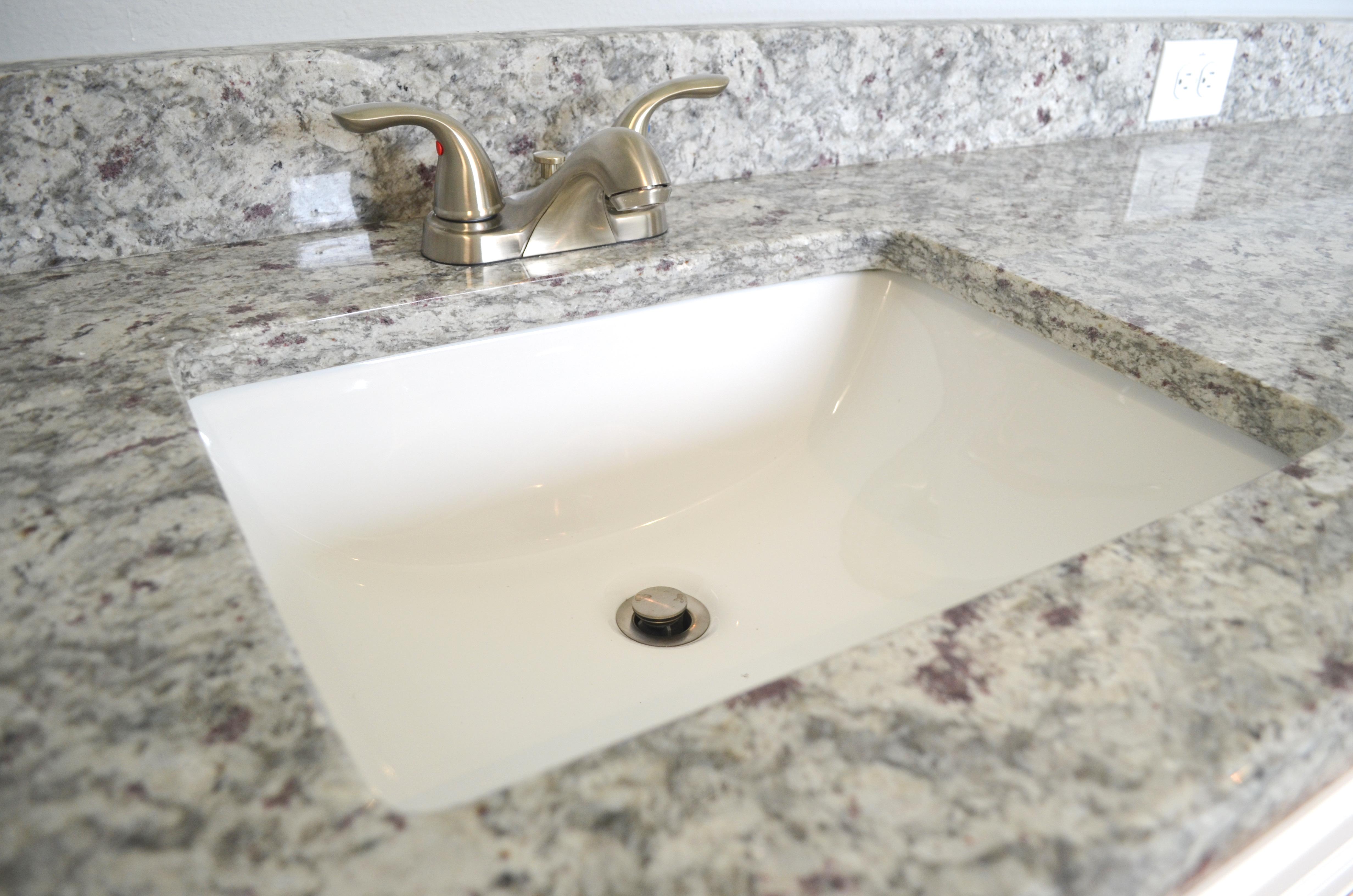 Master Bath Undermount Sink