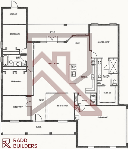 Catalina Floor Plan 2,142 SF