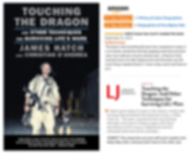 Dandrea author Touching the Dragon prais