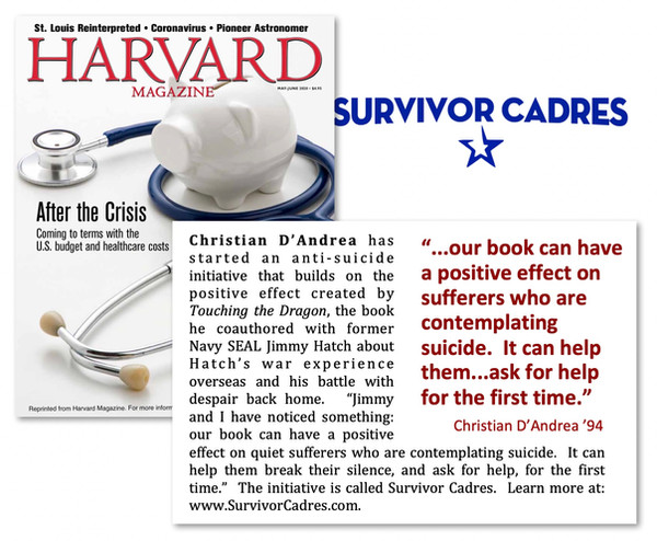 7. So I decided to reproduce and amplify the Survivor Effect by creating a new anti-suicide venture.
