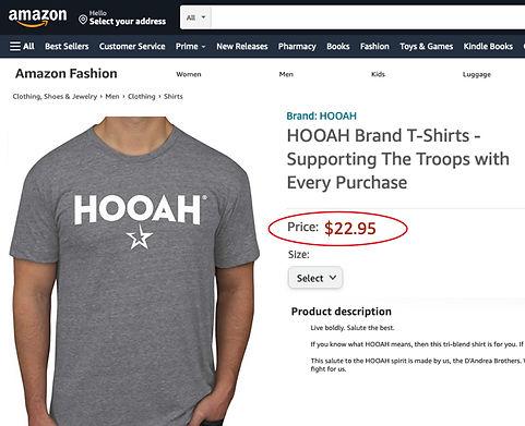 Dandrea Brothers LLC HOOAH trademark amazon.jpg