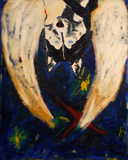 Baselitz Angel