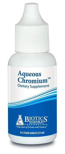 Aqueous Chromium (0.5 oz) Biotics Research Corporation