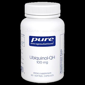 Pure Encapsulations Ubiquinol-QH 100 mg 60 softgels