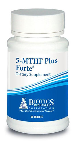 5-MTHF PLUS FORTE,  2500 mcg (60 Tabs) Biotics Research Corporation