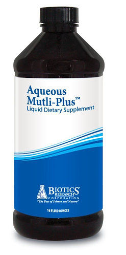Aqueous Multi-Plus (16 oz) Biotics Research Corporation
