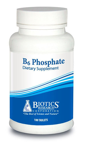 B6 Phosphate (100 Tablets) Biotics Research Corporation
