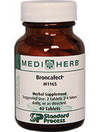 574 MediHerb Broncafect 40 Tablets $32.00