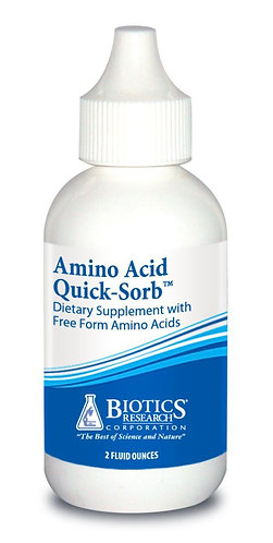 Amino Acid Quick-Sorb (2 oz) Biotics Research Corporation