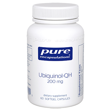 Pure Encapsulations Ubiquinol-QH 200 mg 60 gels