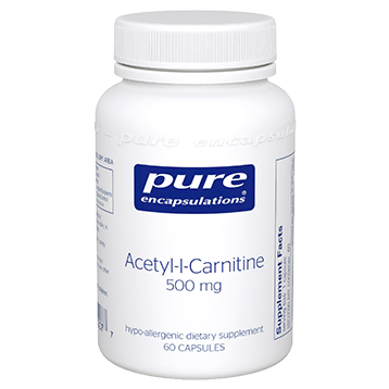 Pure Acetyl-l-Carnitine 250 mg. 60 capsules