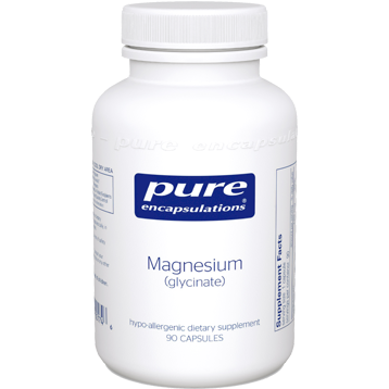 Pure Encapsulations Magnesium (Glycinate) 90, 180, or 360 Capsules