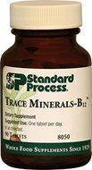 Standard Process Trace Minerals B-12 90 Tablets