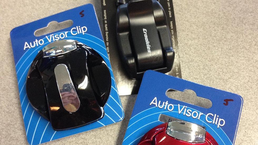 Auto Visor Eyeglass Clip