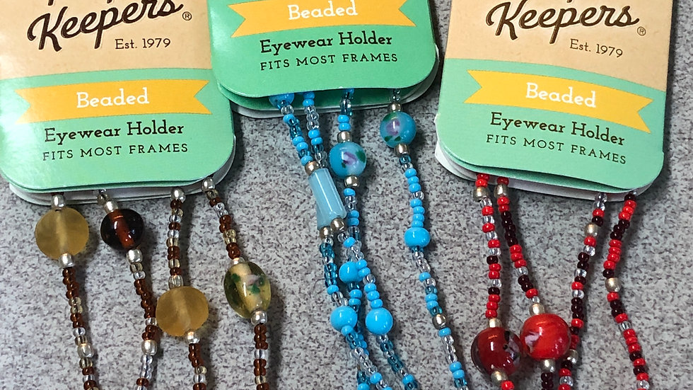 Peeper Keepers Beaded eyeglass chain