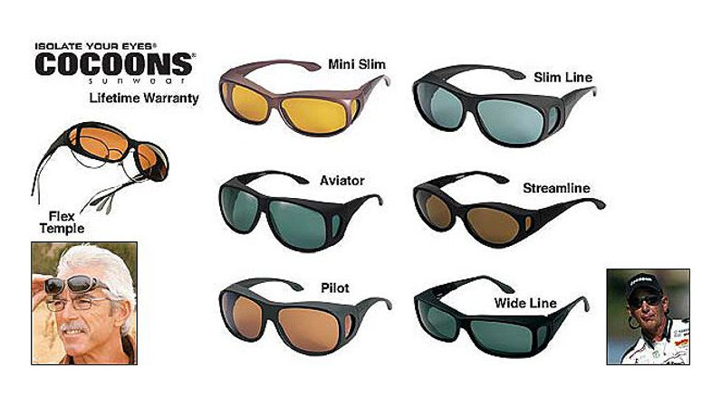 Cocoons fit-over polarized sunglasses